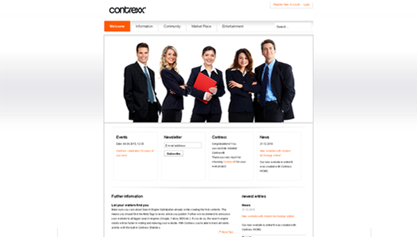 Contrexx® Theme Management Company